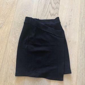 NWOT H&M woven asymmetrical skirt